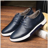 British Style Breathable Men Business Sneakers