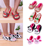 Kids Cotton Warm Indoor Slippers Soft Plush  Shoes