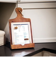 Wood Cookbook/Tablet Holder