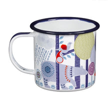 Folklore enamel mug-2colors