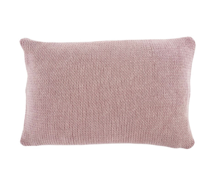 16x24 Knit Lilac Cushion