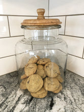 Glass Cookie Jar-2 sizes