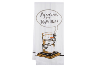 S'more Tea Towel- assorted saying
