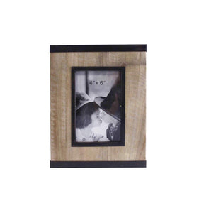 4x6 Wood&Metal picture frame