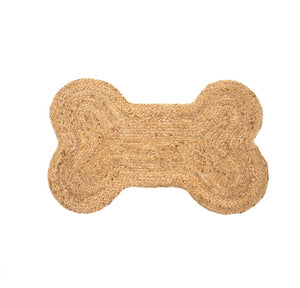 Dog Bone Jute Mat