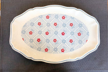 Floral Scalloped Platter-2 patterns