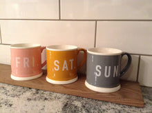 Weekend coffee mugs