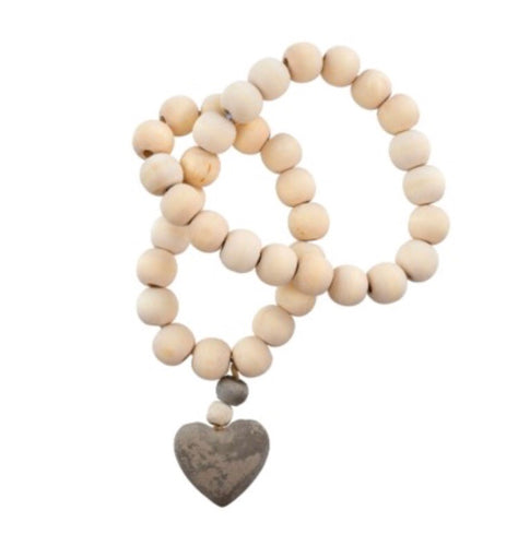 Decorative wooden prayer beads