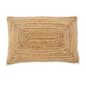 16x24 Jute Lumbar Cushion