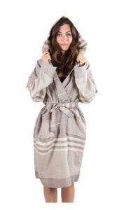 Turkish Robe-Silver