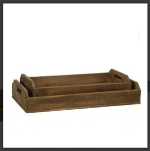 Wood Serving Tray-2 sizes