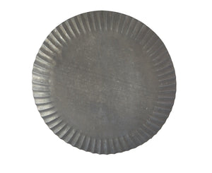 Galvanized charger plate