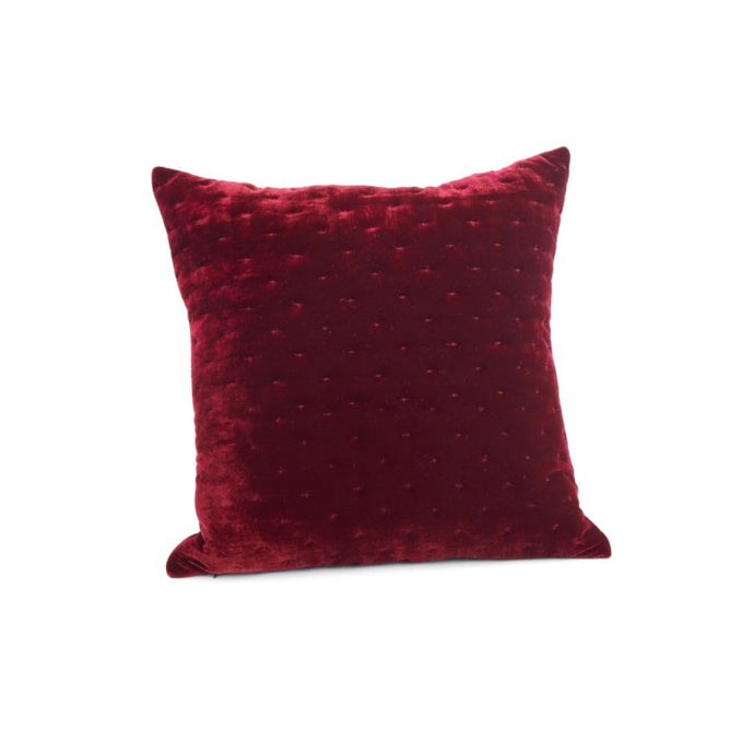 18x18 Burg Velvet Cushion