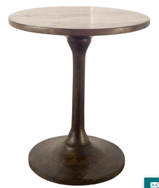 Iron/Wood side table