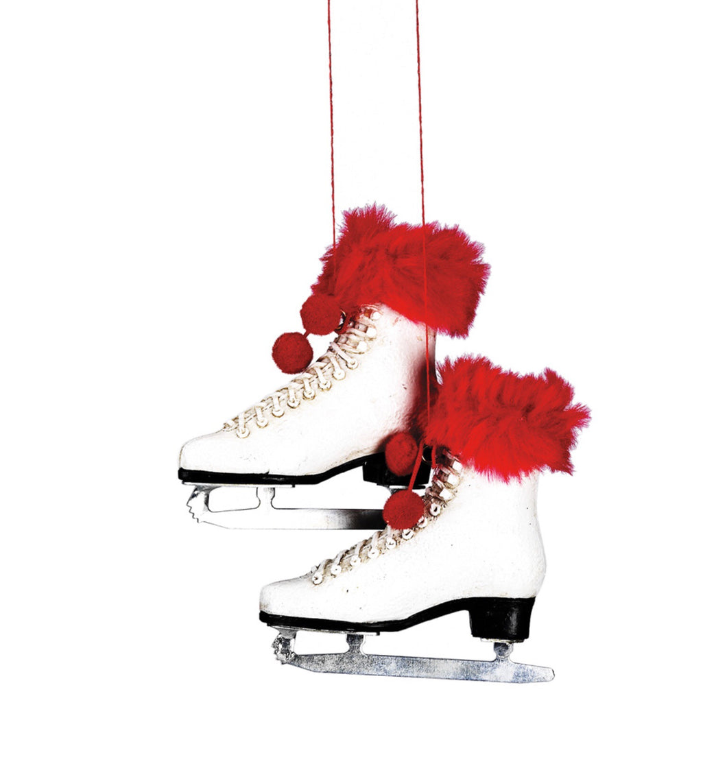 Pair of Figure Skates ornament