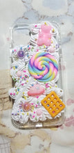 FREE US SHIPPING Iphone 11 Kawaii Fairy Kei Sweets Gummy Bear Waffle Lollipop Planet Candy Sprinkles Deco Case