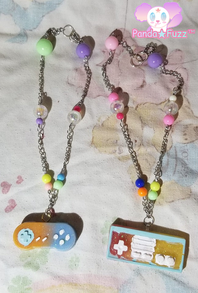 Retro Game Controller Necklaces