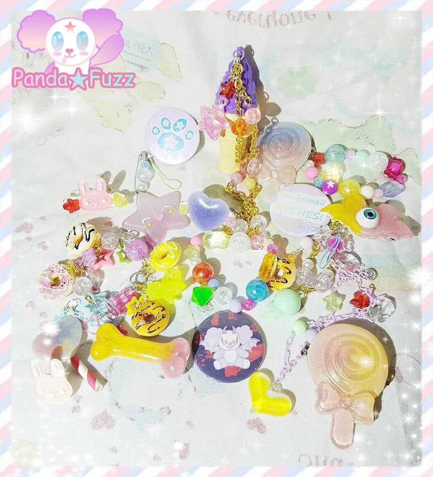 Kawaii Fairy Kei Lucky Pack Creepy Cute Pastel Goth Mystery Bag Grab Bag EXTRA LARGE