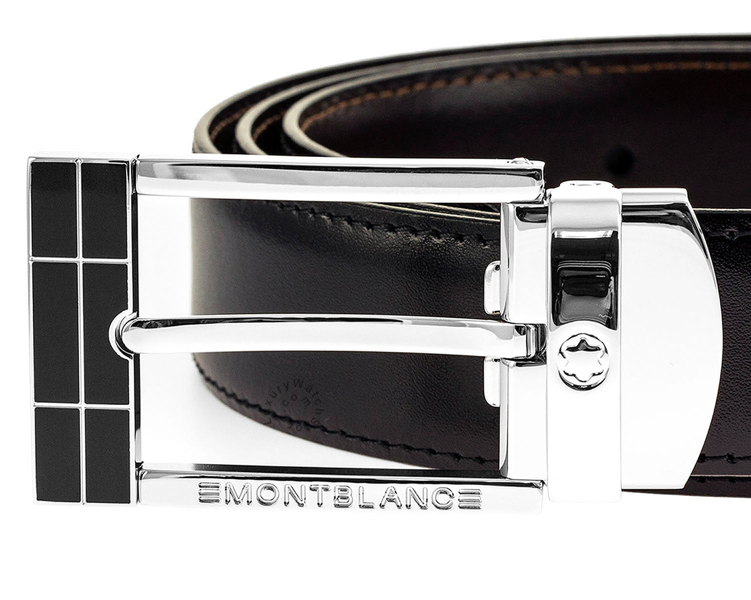 Montblanc 101899 Contemporary Line Men's Leather Reversible Belt