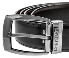 Montblanc 103443 Casual Line Convex Men's Leather Reversible Belt