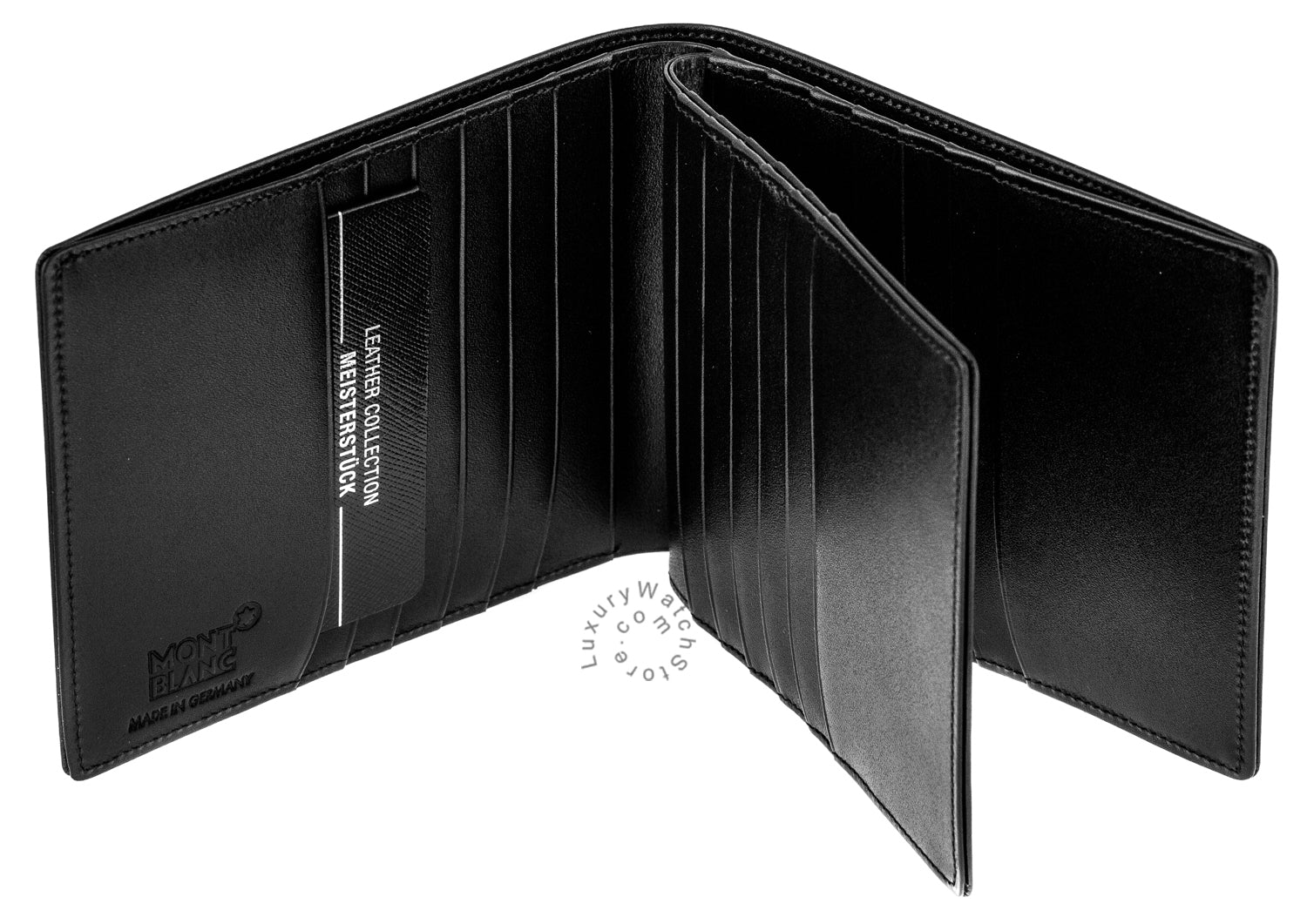 Montblanc Meisterstuck Selection 24CC Large Black Men's Wallet 104820