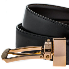 Montblanc 105122 Casual Line Men Leather Brown & Black Reversible Belt