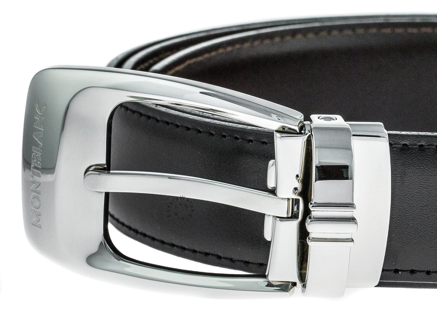 Montblanc Casual Line Trapeze Reversible Men's Leather Belt 106149