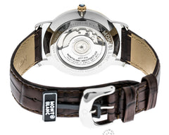 Montblanc Star Classique Brown Leather Band Automatic Men Watch 107309