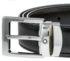 Montblanc Reversible Square Men's Leather Belt 107664