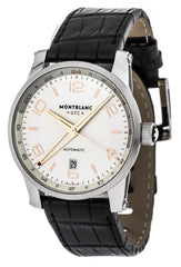 Montblanc Timewalker Collection Voyager UTC Leather Men Watch 109136