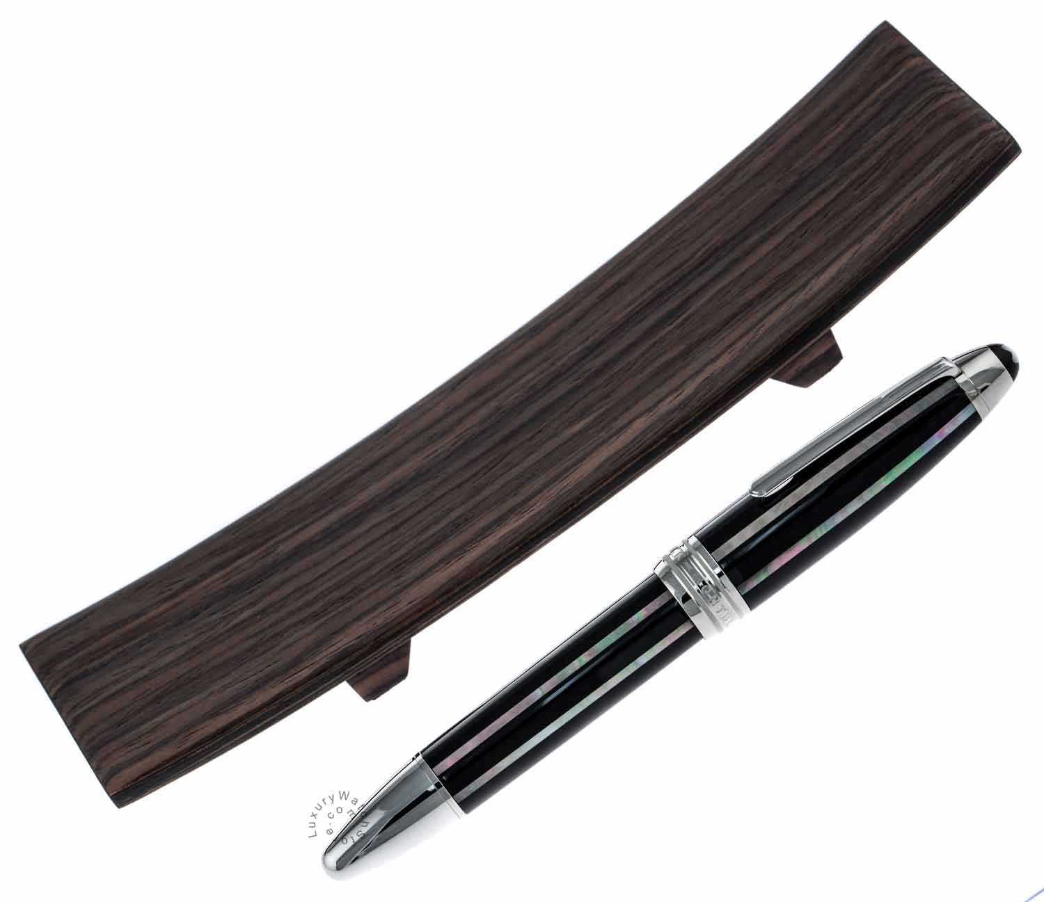 Montblanc Meisterstück Moon Pearl LeGrand Piston Fountain Pen 111693