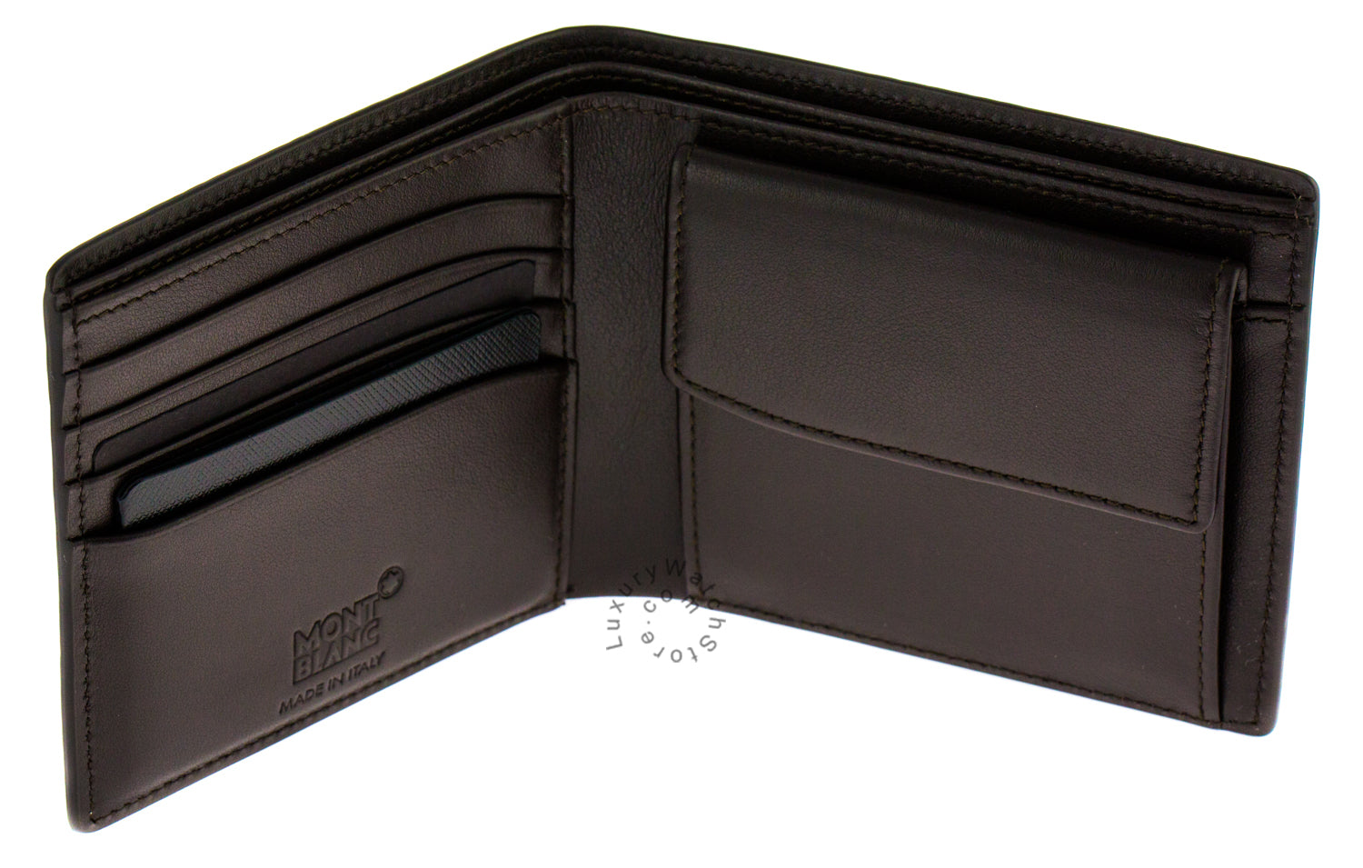Montblanc Meisterstuck Collection Men Leather Wallet 103407 AKA 112600