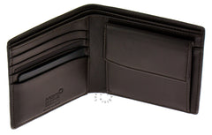 Montblanc Meisterstück Selection Coin Case Mocha Leather Wallet 112600