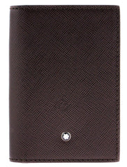 Montblanc 113224 Sartorial 7.5x11cm Brown Leather Business Card Holder