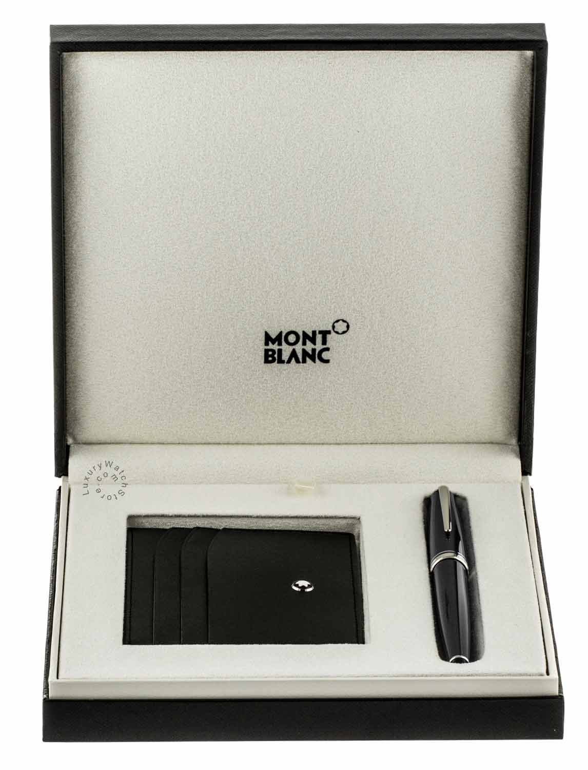 Montblanc Cruise RB Blue Pen & Meisterstuck Pocket Holder Set 114119