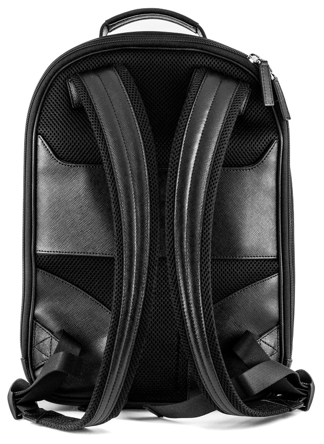 Montblanc Sartorial Black Leather Small Backpack 114584