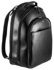 Montblanc Sartorial Black Leather Large Backpack 114586