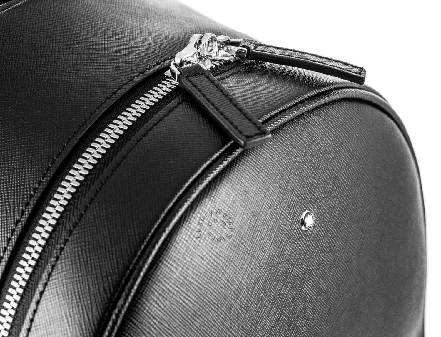 Montblanc Sartorial Collection Dome SM Black Leather Backpack 116751