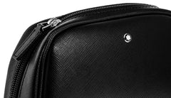 Montblanc Sartorial Black Saffiano Leather Vanity Bag Large 116761