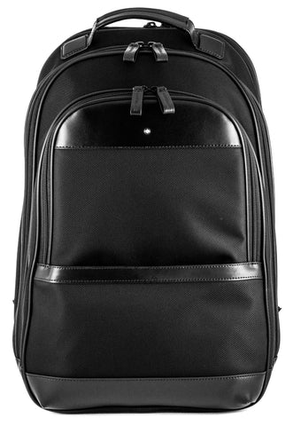 Montblanc NightFlight Black Nylon Fabric Backpack Large 116771