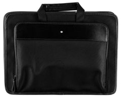Montblanc NightFlight Black Nylon Fabric Laptop Case 116775
