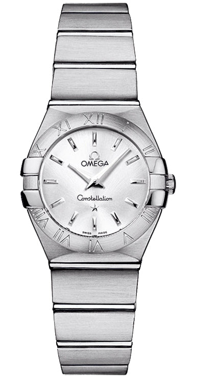 Omega Constellation Mini Silver Dial Women's Watch 123.10.24.60.02.001