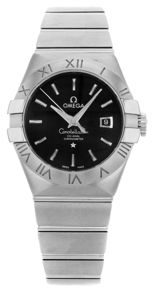 Omega Constellation Co-Axial BLK Dial Women Watch 123.10.31.20.01.001