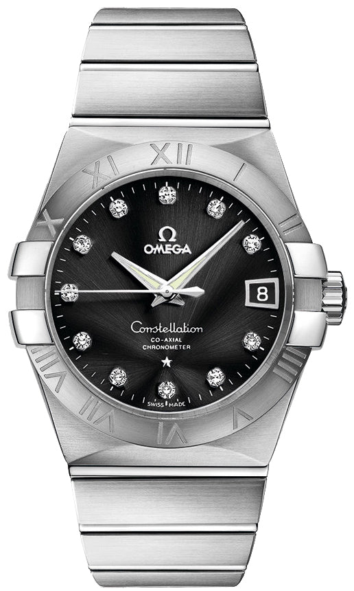 Omega Constellation Co-Axial 38MM DIA Men Watch 123.10.38.21.51.001