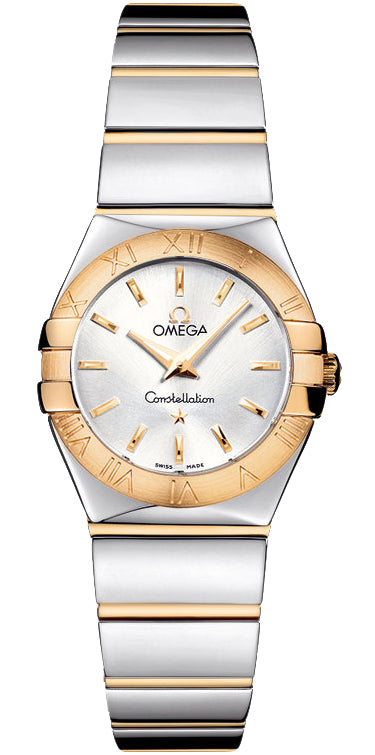 Omega Constellation Quartz 24MM Two Toned SS Watch 123.20.24.60.02.004