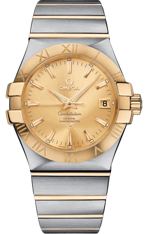 Omega Constellation Co-Axial 35MM Auto Men's Watch 123.20.35.20.08.001