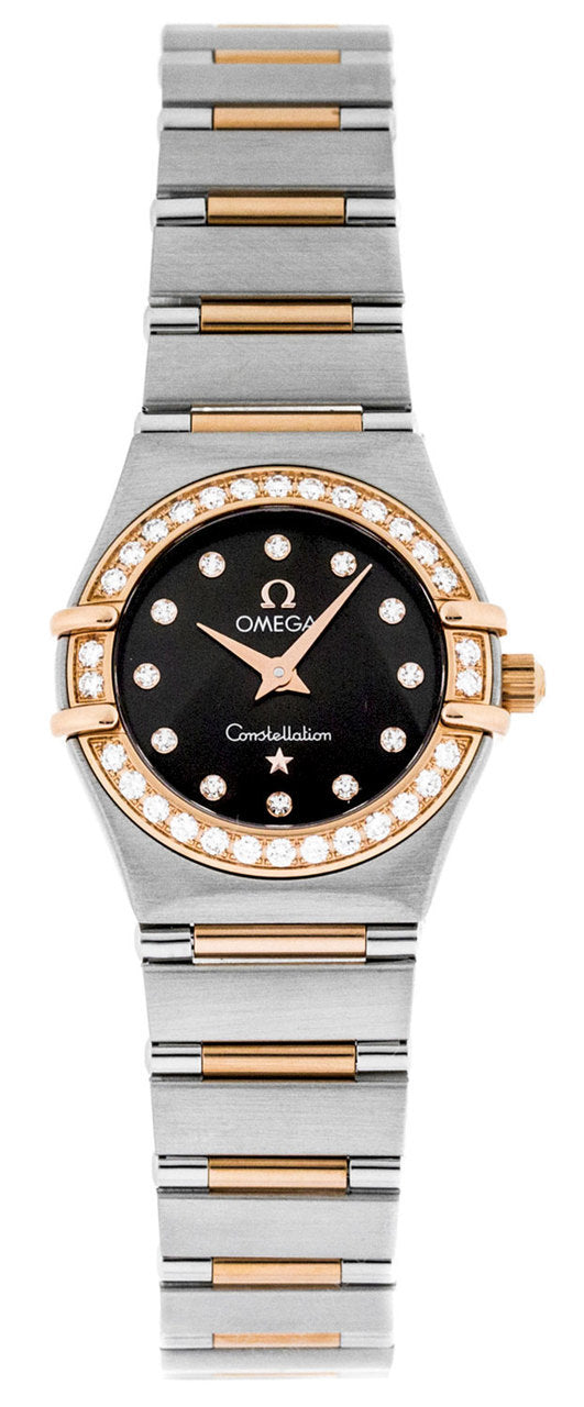 Omega Constellation '95 Diamonds Brown Dial Women's Watch 1360.60.00
