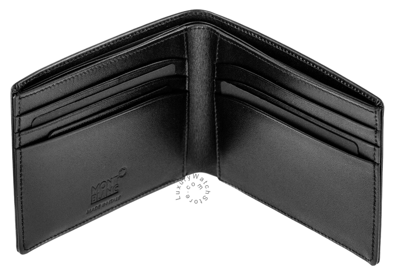 Montblanc 14548 Meisterstuck Collection 6cc Leather Wallet