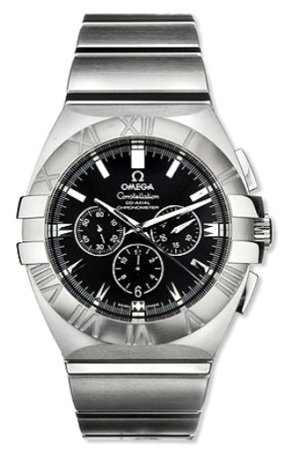 Omega Constellation Double Eagle Chronograph SS Men's Watch 1514.51.00