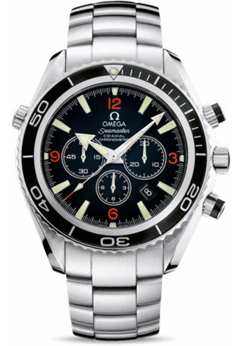 Omega Seamaster Planet Ocean 600M Diver Chronograph Men Watch 2210.51